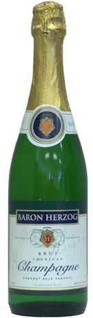 Baron Herzog Sparkling Kosher California